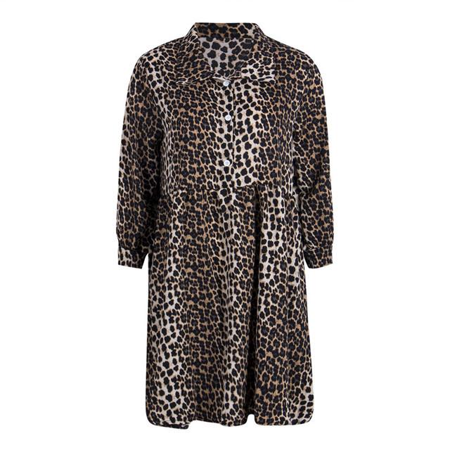 Vestido Leopard