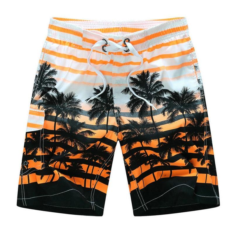 2018 Summer Hot Fashion   Board     Shorts   Men Beach   Shorts   Hawaii Printing Mens   Board     Shorts