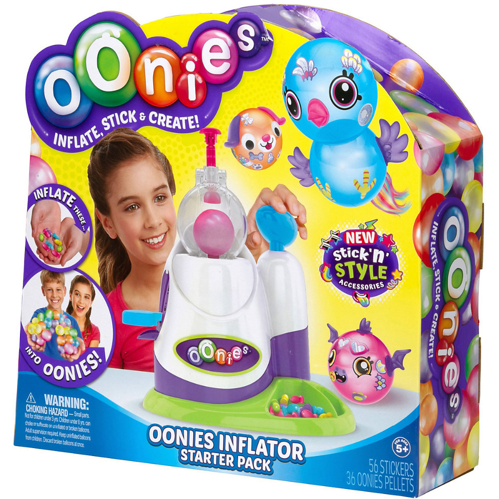 9608096 Oonies Start Set For Blowing Constructor From Balls Babies Toys For Boys Girls Set Creative