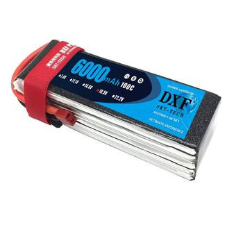 DXF Graphene Lipo 5S Battery 18.5V 6000mAh 100C MAX 200C AKKU Batteria For RC Helicopters Quadcopter Airplane Car Boat Drone FPV