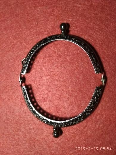 8.5cm Munt Metalen Portemonnee Frame Maken Kus Sluiting Lock voor Clutch Handvat Handtas Accessoires Rood Brons Tone Tassen Hardware photo review