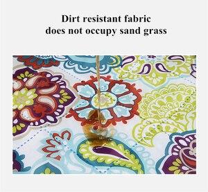 Image 3 - Моющийся коврик для кемпинга и пикника, 2 м х 2 м, коврик для пляжной палатки, одеяло, плед, влагозащищенный коврик для машинной стирки