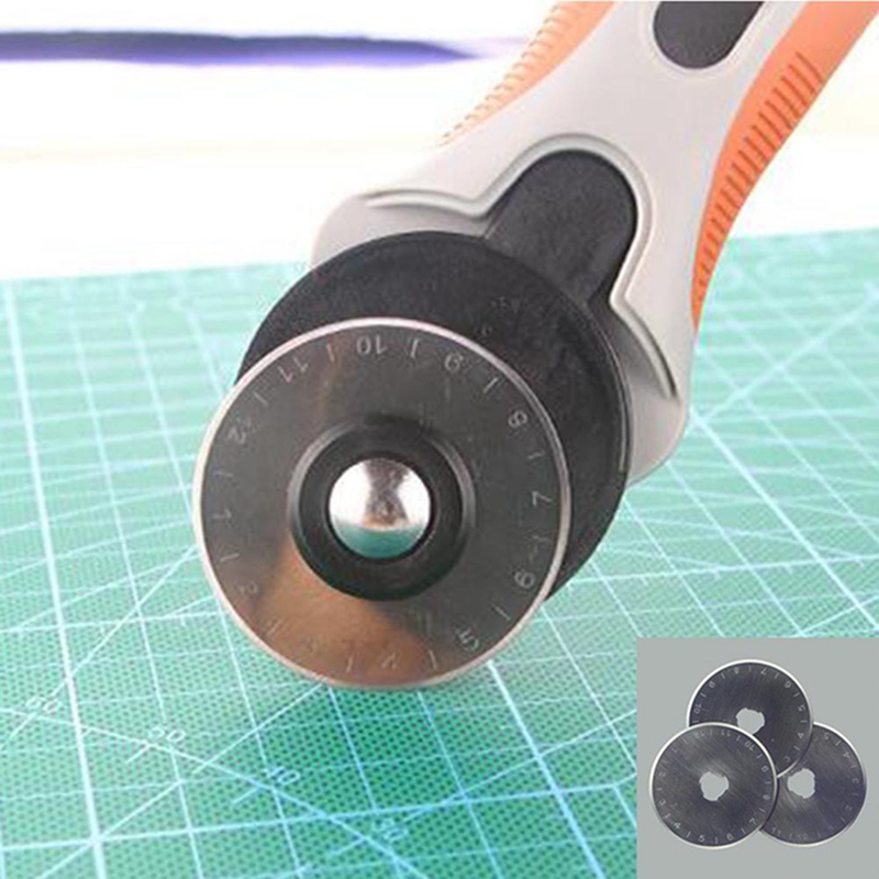 SKS-7 45MM Rotary cutter blades Patchwork Fabric Leather Craft Circular Paper Colth Cut  ...