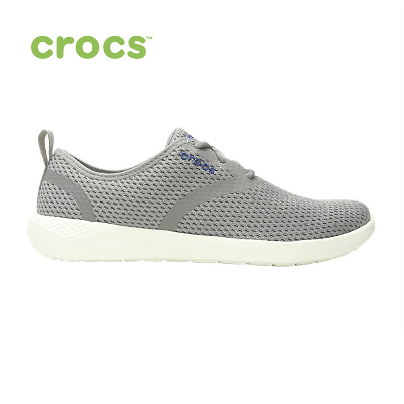 CROCS LiteRide Mesh Lace M MEN for male, men TmallFS shoes sneakers high quality men low top sneakers black white casual leather shoes male plaid students streetwear lace up flats driving shoes