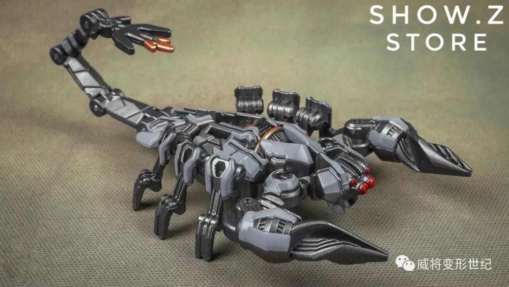 Weijiang M05 Hide Shadow Blackout Oversized Studio Series SS08 night blade