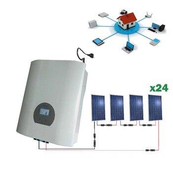 Kit solar 6000wh Autoconsumo inyección red