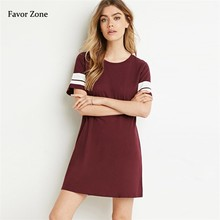 Casual Short Sleeve Women Summer Dress Loose Plus Size Female T-shirt Midi Dress For Women Print Cotton O-neck Beach Dresses XXL women spring summer loose oversized dress short sleeve letter t shirt dress casual o neck cotton dresses white black red xxl