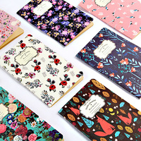 BPNew Pattern Restore Ancient Ways Kraft Small Notebook Flower Colour Notepad Exquisite Manuscripts Small Gift Wholesale SGBJB3