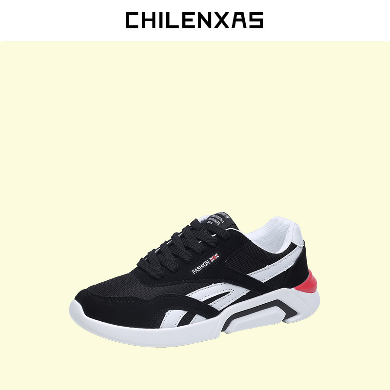 CHILENXAS 2017 Spring Autumn Leather Shoes Men Casual Breathable Comfortable New Fashion Lace-up Striped Waterproof Light klywoo new white fasion shoes men casual shoes spring men driving shoes leather breathable comfortable lace up zapatos hombre