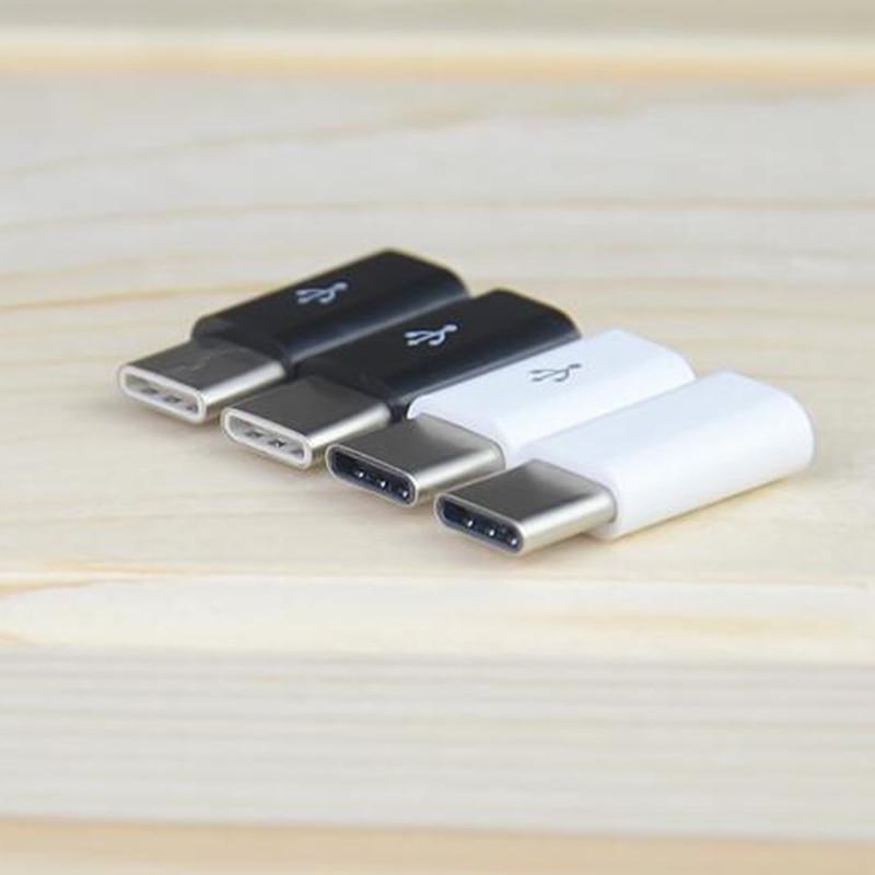 Universal USB 3,1 tipo-C conector macho USB a Micro USB hembra convertidor USB-C adaptador de datos dispositivo tipo C