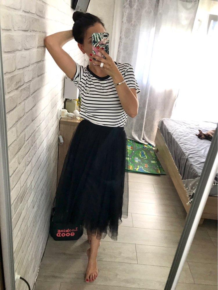 d151fd324 Colorfai 2019 mujeres Casual malla acampanada Falda larga tutú Primavera  Verano plisada falda de patinadora dulce vestido de baile cintura alta SK803