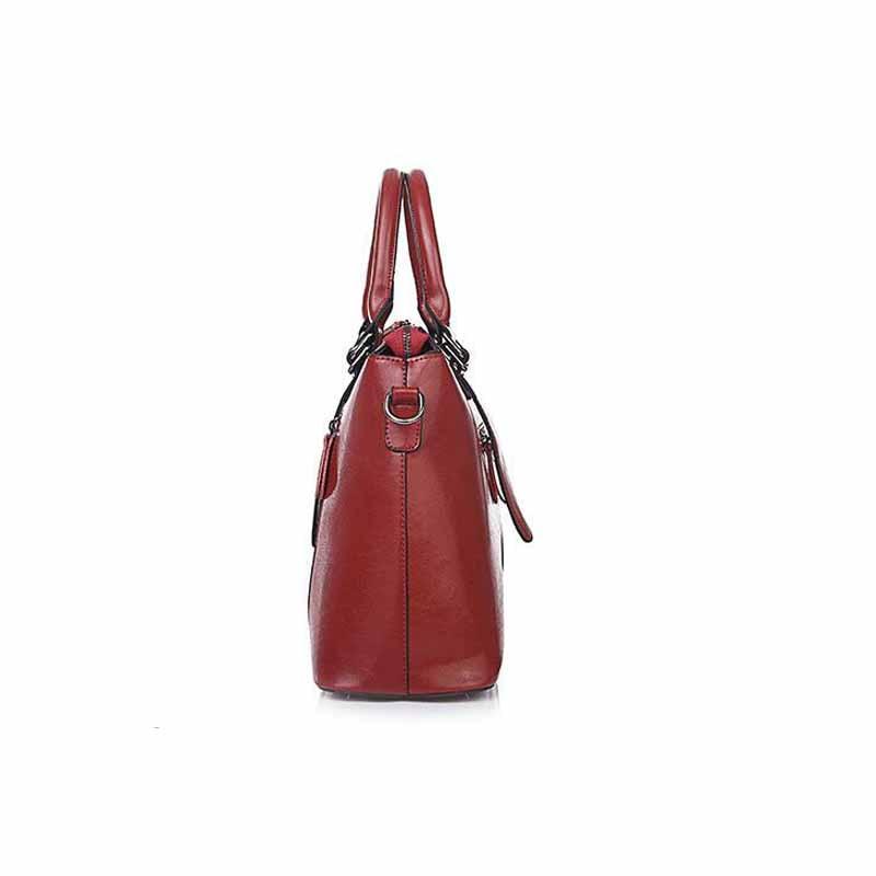 Nuove donne di modo split signore della borsa di cuoio del sacchetto di spalla sacchetto del messaggero delle donne-in Borse a tracolla da Valigie e borse su  Gruppo 3