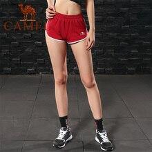 600209b108714 CHAMEAU Femmes Yoga Sport Shorts 2018 Casual Gym Vêtements Respirant Court  Solide Couleur Pour Fitness Course