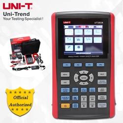 Анализатор качества электроэнергии, однофазный UT283A, ток инкрустации/время гармоник/измерение мигания/запись данных