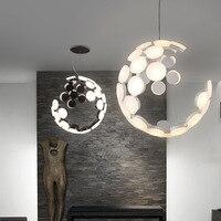 Современные светодио дный подвесной светильник нерегулярные полые Форма подвесные светильники Гостиная Кухня Дизайнер подвесной светиль