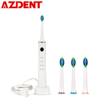 4 Modes Adults Sonic Electric Toothbrush Rechargeable Ultrasonic Teeth Tooth Brush Personal Care Appliances 4 Heads Deep Cleaner