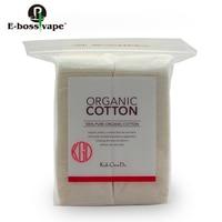 E Bossvape 80pcs Bag Koh Gen Do Cotton For Vape Rda Atomizer Organic Cotton For DIY