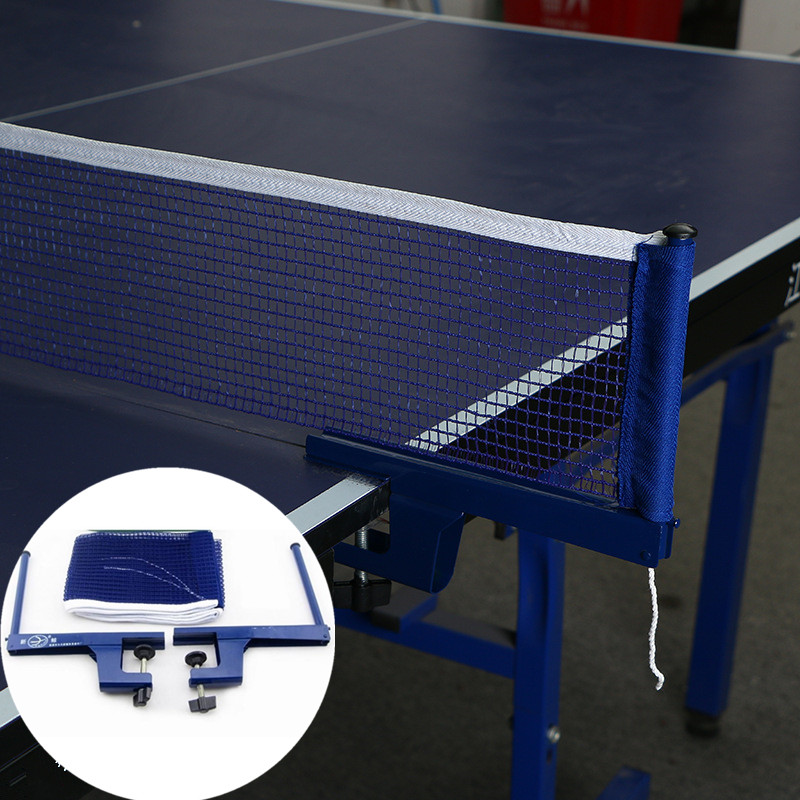 Portable Table Tennis Net Set Iron Stand Flexible Net Steel Fitness Sports Ping Pong Net Accessories
