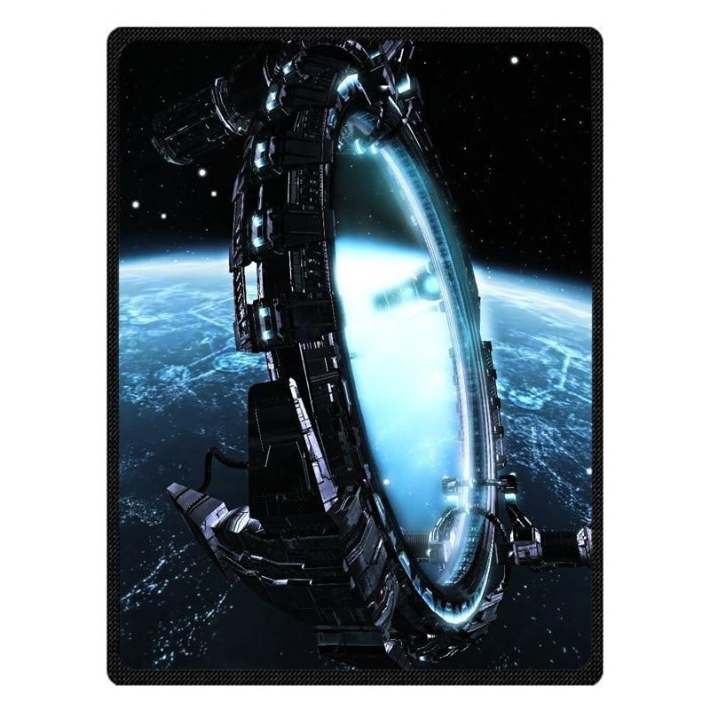 Stargate Chaud Molleton Couvertures Super Doux Flanelle Manta Pour Canapé/Lit/Voiture/Avion/Voyage/bébé Couvre-lit