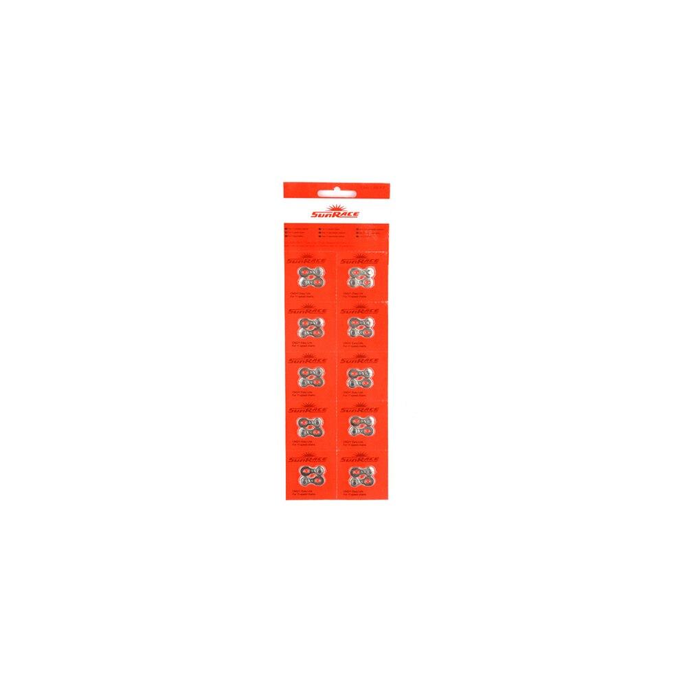 Lock chain SUN RACE CNQ11 11 IC. 10 PCs tassel decor kiss lock chain bag
