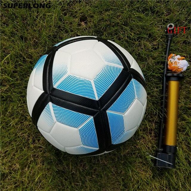 Hot penjualan ukuran 5 bola Sepak bola Liga PU Bahan Profesional  Pertandingan Trainning seamless Sepak bola 0d95031fe7