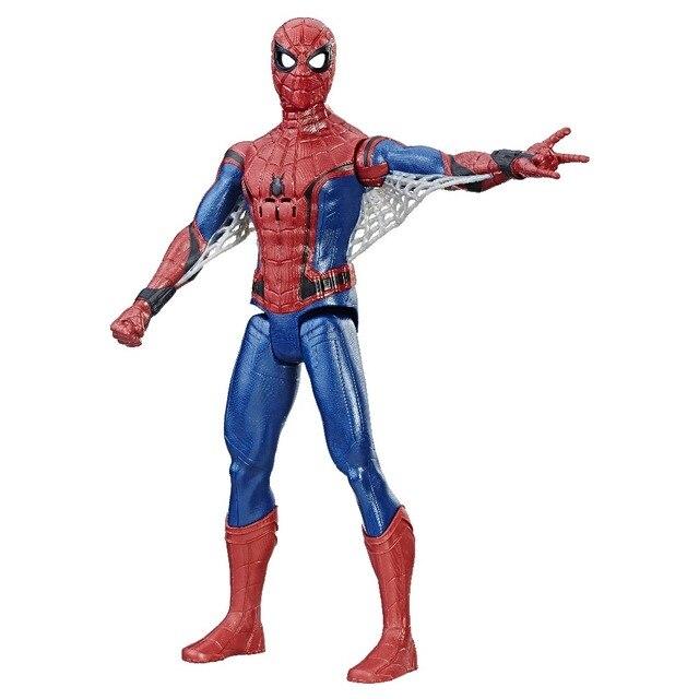 Электронная фигурка Hasbro Avengers Титан, Человек-паук