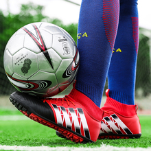 Kids Training Non-slip Football Shoes