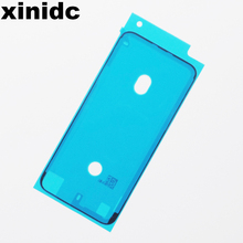 Xinidc Waterproof Sticker For iPhone X 8 Plus 7 6S LCD Screen Frame Adhesive Pre-Cut Original New 10pcs