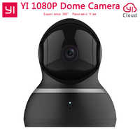 """[International Edition] Yi Home Security IP Camera 1080P Dome Camera 360 degree 112"""" wide-angle Pan-Tilt Control Two-way Audio"""