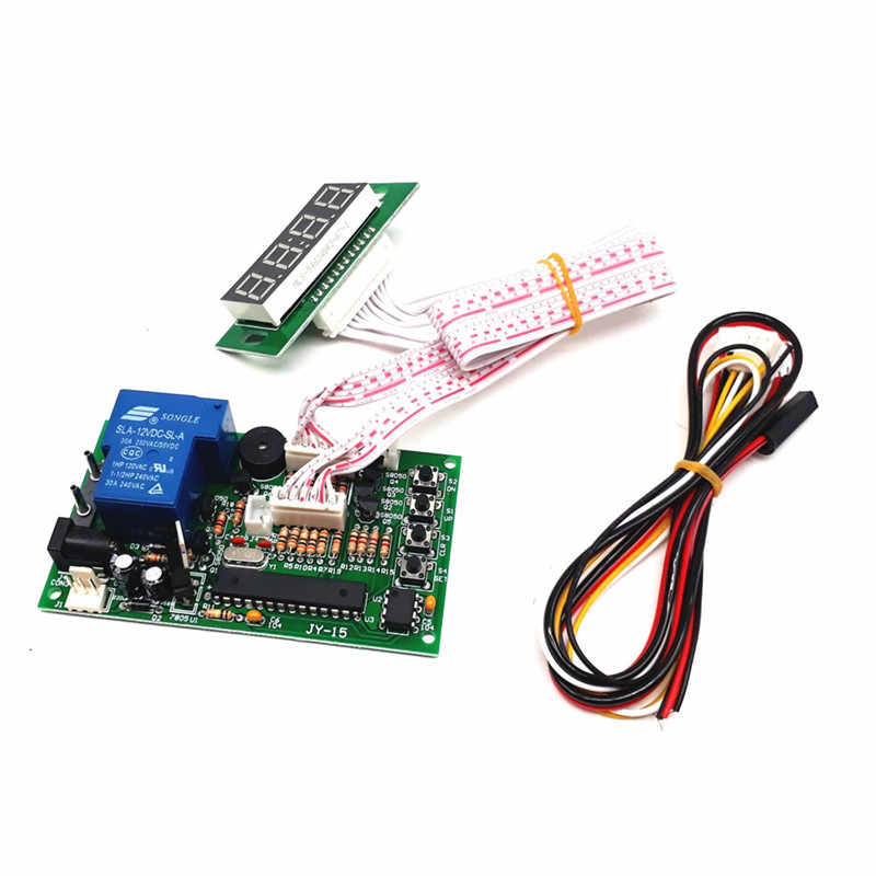 JY-15A-V1 Time Control Timer Board Power Supply for coin acceptor selector