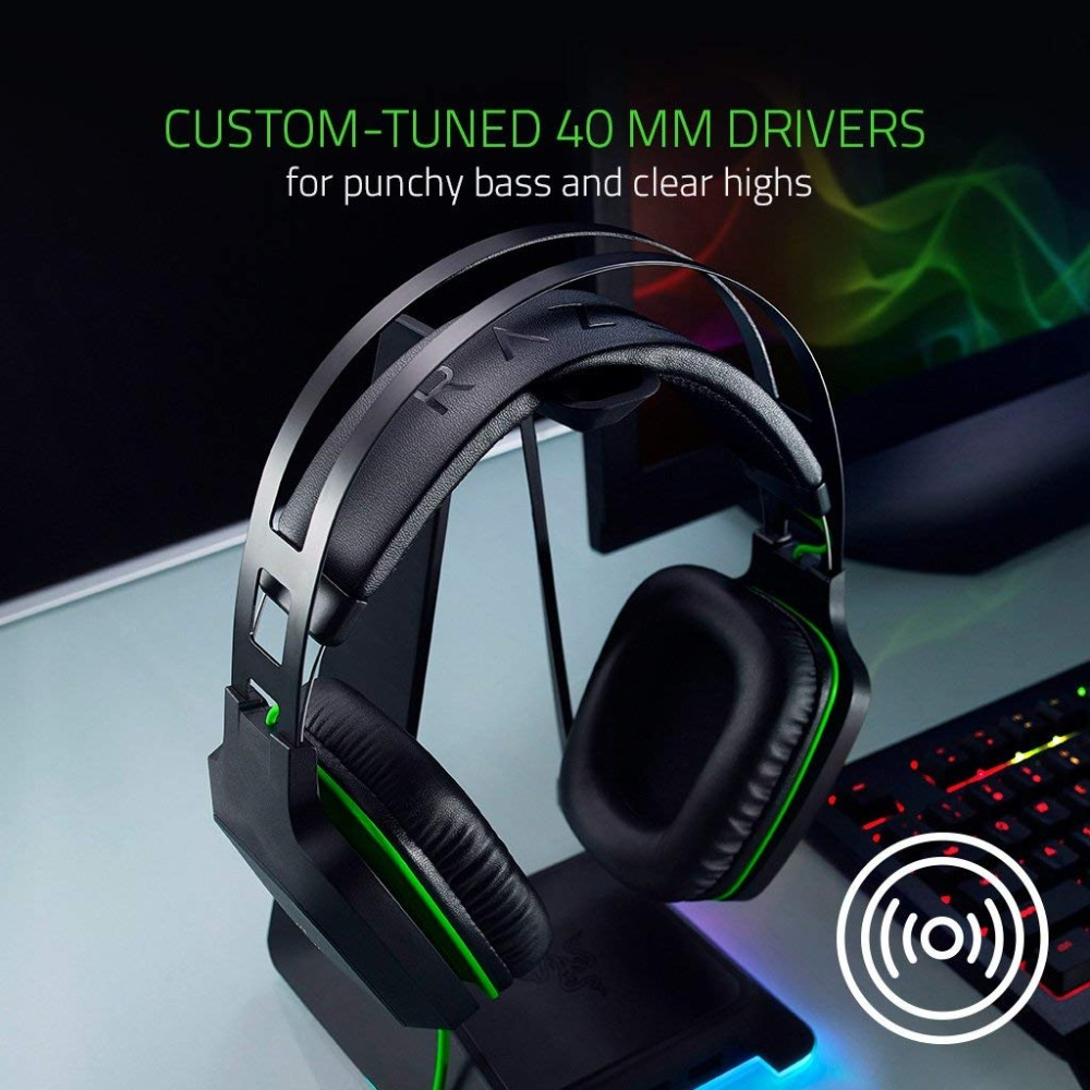 Image 4 - Original Razer Electra V2 3.5mm Gaming Headset 7.1 Surround Sound with Detachable Mic for PC/Xbox One/PS4/Laptop Headphone Gamer-in Headphone/Headset from Consumer Electronics