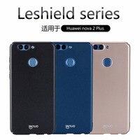 for huawei nova 2 plus case LENUO LESHIELD Series Ultra thin & light Luxury PC hard back cover for huawei nova2 plus