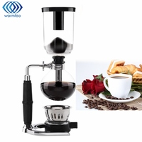 Glass Siphon Coffee Maker Coffee Pot Drip Coffee Maker 3 Cups Ice Cold Drop Kettle Kitchen