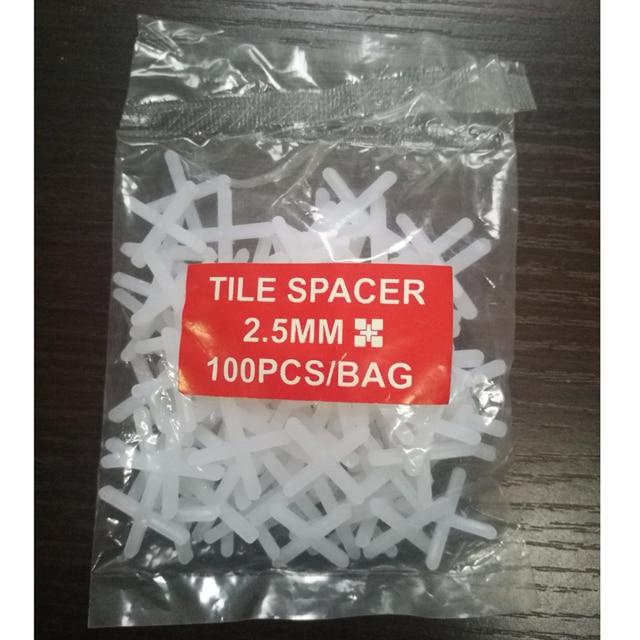 100 Stucke 2 5mm Kunststoff Materialien Fliesen Zubehor Nivellierung