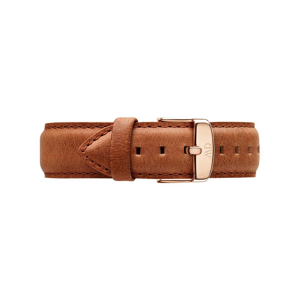 Watchbands Daniel Wellington DW00200125 bracelet strap belt watches wrist men women 22mm 24mm vintage genuine leather watch band strap men women watchbands stainless steel buckle accessories for panerai