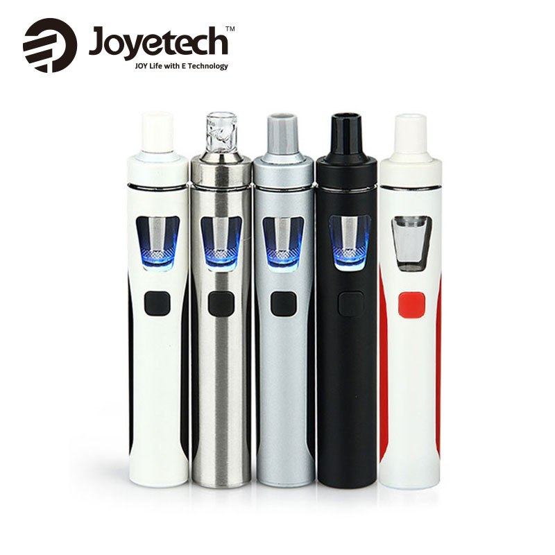 Joyetech eGo AIO Quick Kit Nya färger 1500mAh 2ml Kapacitet Allt-i-ett-paket Elektronisk cigarettångare Original vs ijust s