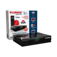 Цифровой телевизионный приемник LUMAX DV3206HD черный