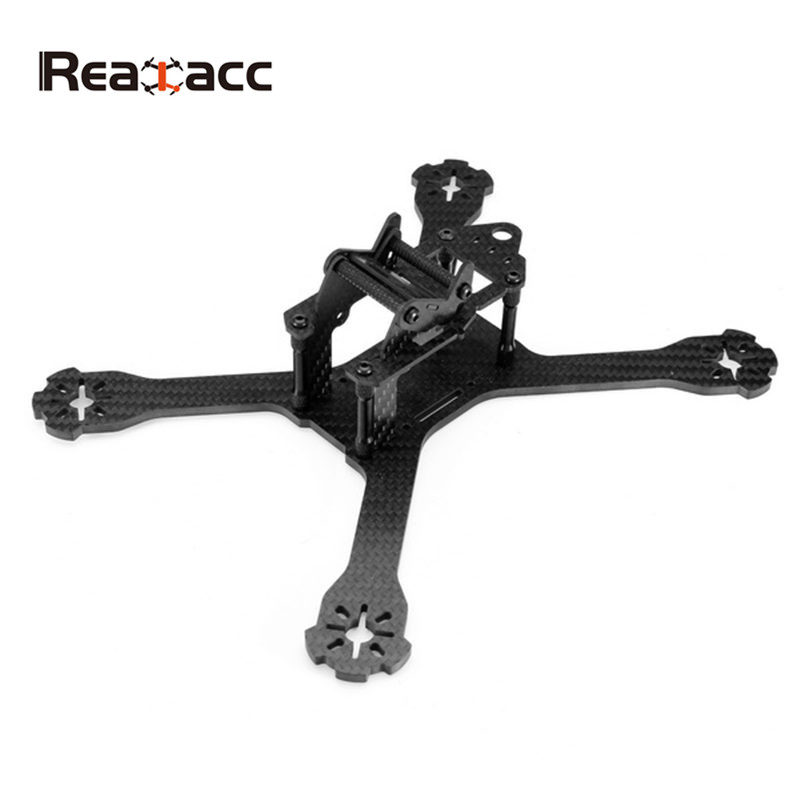 High Quality Realacc XS220 220mm Carbon Fiber 4mm Arm w/ 5V 12V PDB X Type Frame Kit For FPV Racing RC Drone Multirotor Parts