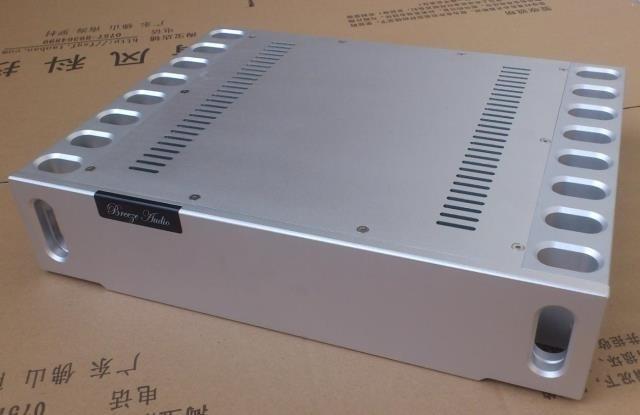 BZ4309E All-aluminum Chassis High-end CNC Amplifier Housing DIY Enclosure  Audio Amp Case 430MM*96MM*328MM
