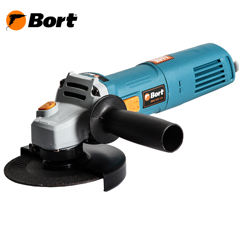 BORT Angle Grinder bulgarian USHM Grinding machine Electric grinder Angle Grinder grinding Power or cutting metal portable Woods Steel Power Tool Warranty BWS-920-125 air compressor die grinder grinding polish stone kit air angle die grinder kit pneumatic tools