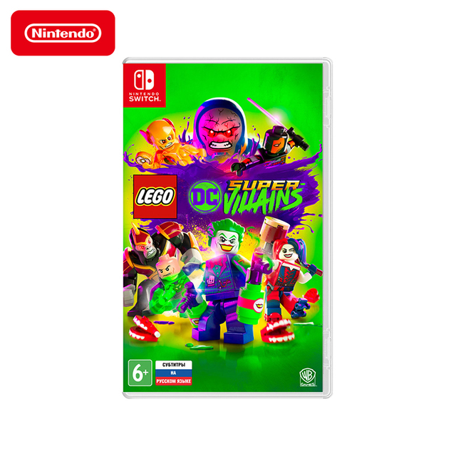 Игра для Nintendo Switch LEGO DC Super-Villains, русские субтитры