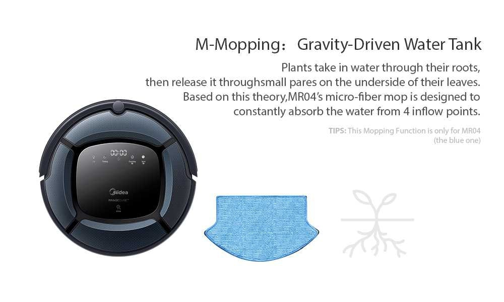 Global Version Smart Robot Vacuum Cleaner of Large capacity With Automatic Navigation and Powerful Suction 12