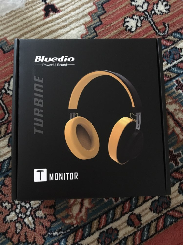 Bluedio TM wireless bluetooth headphone with microphone monitor studio headset for music and phones support voice control-in Phone Earphones & Headphones from Consumer Electronics on AliExpress