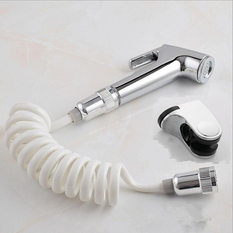 Plastic Handheld Portable Diaper Bidet Set Shattaf Sprayer Toilet Shower Head With Hose Home Bathroom Accessories