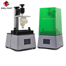 Kelant 3D Printer Uv LCD Dirakit Foton Resin SLA Light-Menyembuhkan 3.5 ''Desktop Impresora 405nm DLP 3D Printer kantor Elektronik(China)