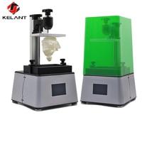 Kelant 3D Printer UV LCD Assembled Photon Resin SLA Light Cure 3.5'' Desktop Impresora 405nm DLP 3d Printers Office Electronics