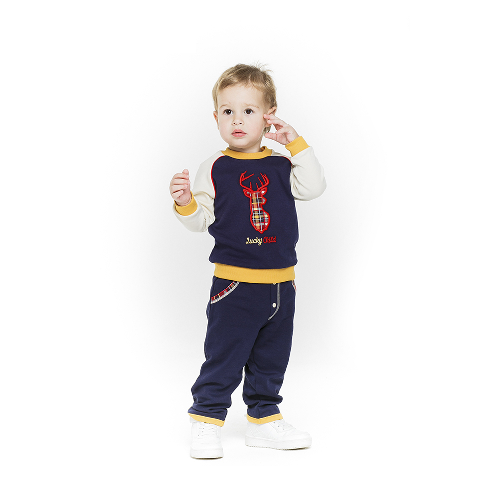 Pants Lucky Child for boys 27-11f Leggings Hot Baby Children clothes trousers newborn baby boy girl infant warm cotton outfit jumpsuit romper bodysuit clothes