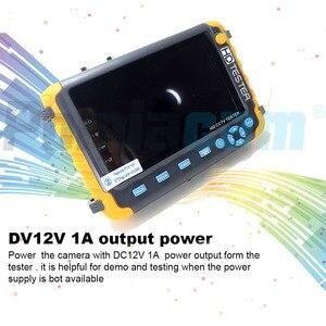 Image 2 - CCTV TESTER 5MP בטיחות הגנת 5 אינץ Tester AHD TVI 4MP CVI אנלוגי CCTV Tester צג VGA HDMI UTP כבל מבחן 8W