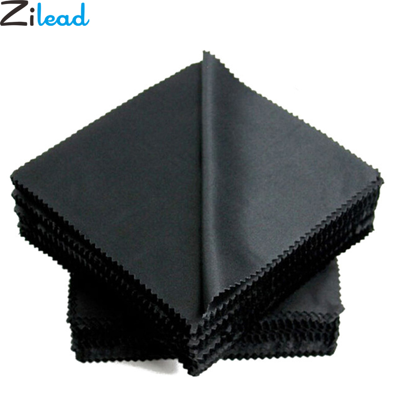 Microfiber Cloth Eyeglasses: Aliexpress.com : Buy Zilead 10pcs/set Microfiber Black