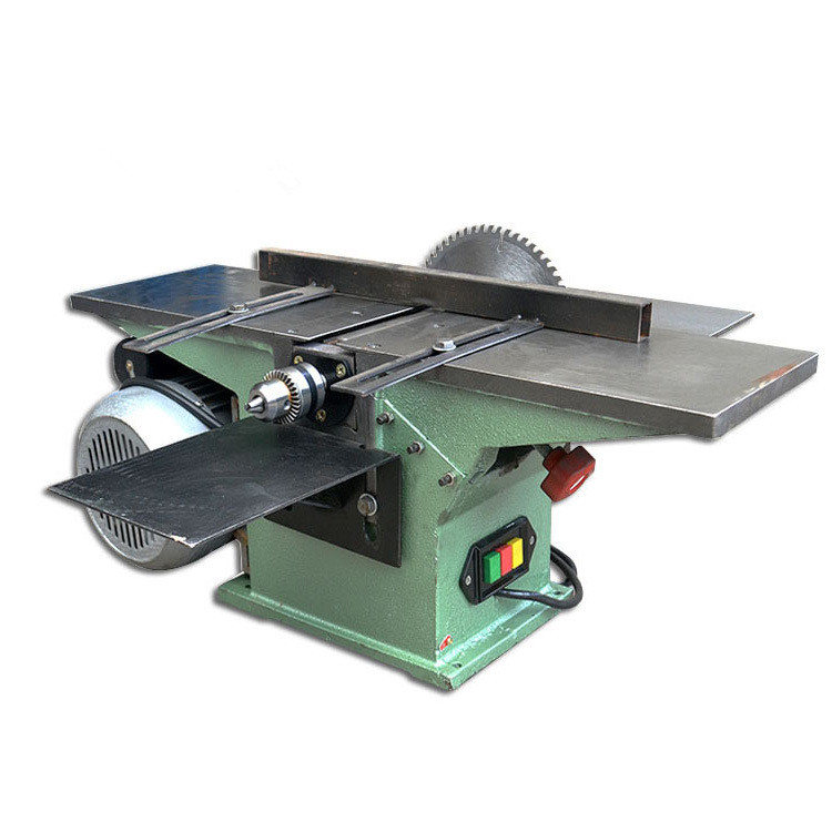 220V 1500W 150mm Electric Wood Planer Saws Multifunctional Woodworking Table Planer Household Wood Saw Planer 3900r/min